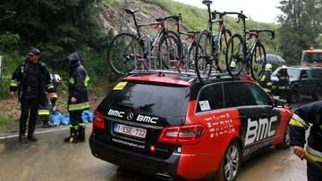 17-07-2016 17:14 Tour de Pologne: odwołali ekstremalny etap w ulewie pod Tatrami