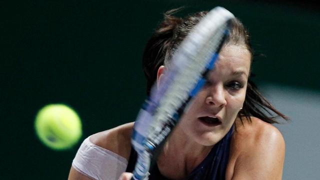 Radwańska tenisistką października i autorką zagrania miesiąca WTA