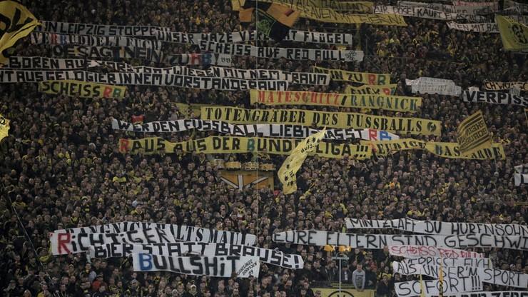 Zamieszki po meczu z udziałem Borussii Dortmund. Poszkodowani to fani RB Lipsk