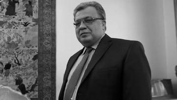 19-12-2016 18:37 Ambasador Rosji zastrzelony w Turcji
