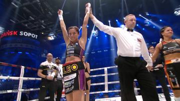 2017-06-24 Polsat Boxing Night: Brodnicka wygrała, chociaż była na deskach!