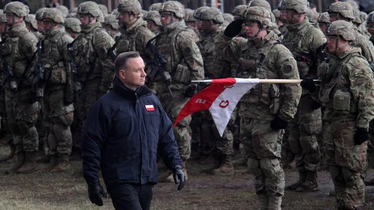 """To historyczny moment"". Prezydent na powitaniu wojsk NATO"
