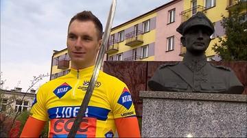 24-04-2016 18:04 Eryk Latoń wygrał wyścig kolarski szlakiem walk majora Hubala