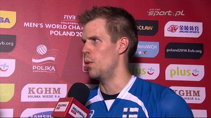 Matti Oivanen: Graliśmy na swoim poziomie