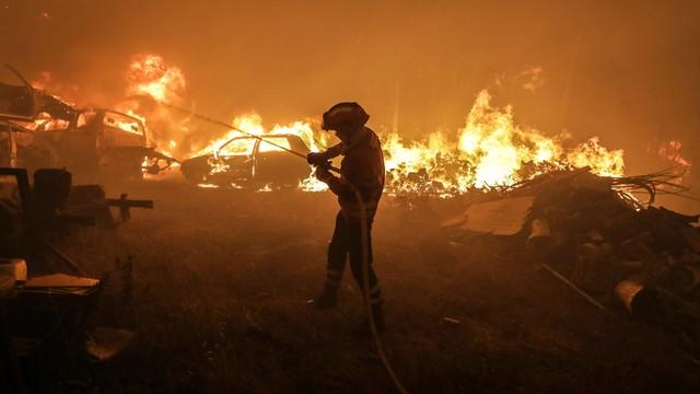 Pożary w Portugalii. Unia wysyła samoloty gaśnicze i strażaków