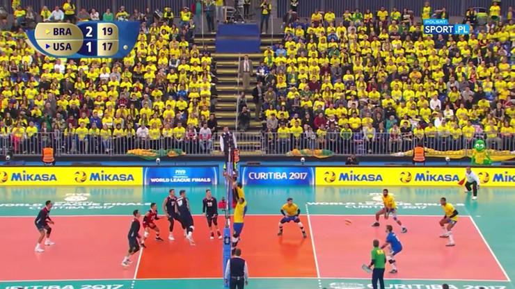 Brazylia – USA 3:1. Końcówka meczu