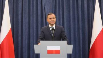 24-07-2017 16:01 Prezydent Andrzej Duda modlił się w niedzielę na Jasnej Górze