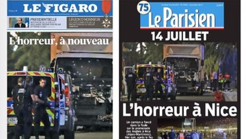 15-07-2016 05:47 Media o zamachu: horror w Nicei