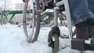 Zimowy koszmar niepełnosprawnych