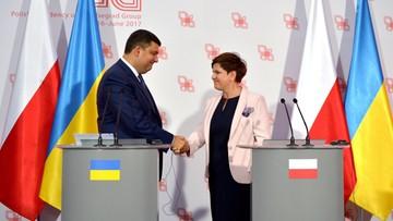 07-09-2016 10:19 Szydło: wolna i demokratyczna Ukraina gwarancją bezpieczeństwa dla Polski