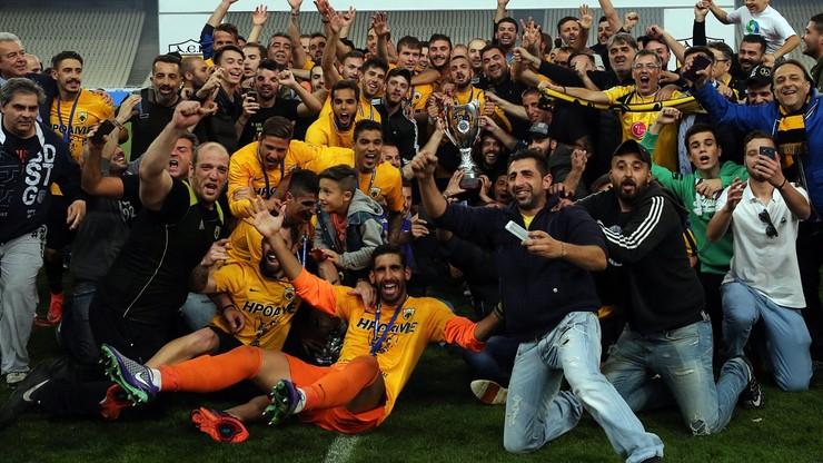 AEK Ateny zdobył Puchar Grecji... przy pustych trybunach
