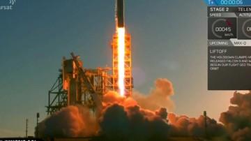 Udana misja rakiety Falcon 9. Wyniosła najcięższego satelitę