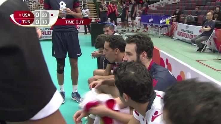 2015-09-18 USA - Tunezja 3:0. Skrót meczu