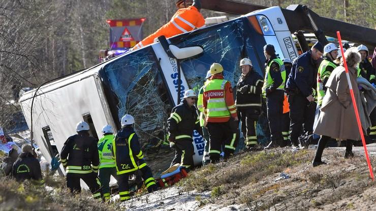 Szwecja: wypadek autokaru z dziećmi. Nie żyją trzy osoby