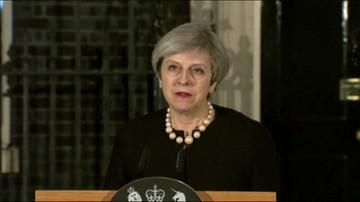 Wystąpienie premier May po ataku w Londynie