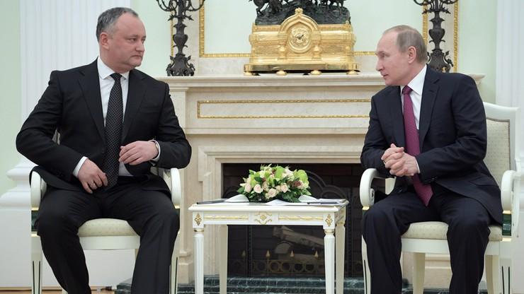 Prezydent Mołdawii: być może anulujemy umowę stowarzyszeniową z UE
