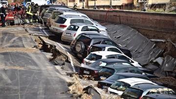 25-05-2016 11:55 Florencja: ogromna rozpadlina w centrum. Zagrożone zabytki