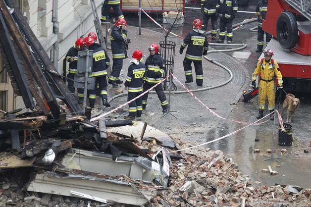 Po wybuchu gazu: stan jednej osoby ciężki, czterech - stabilny