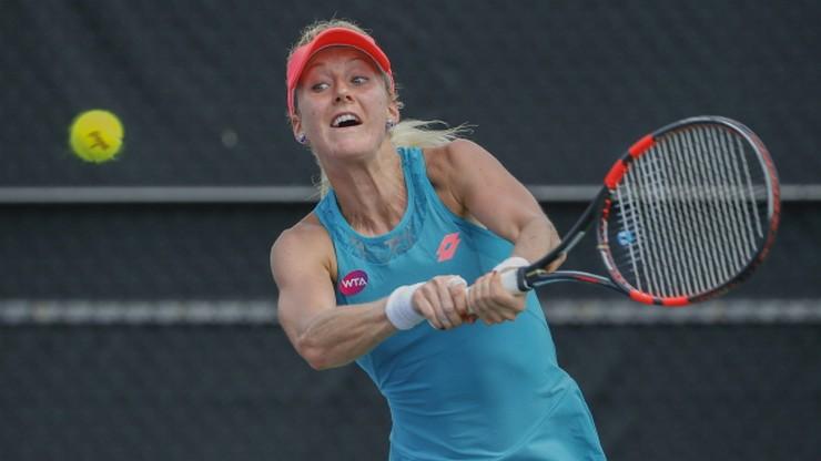 Urszula Radwańska w turnieju głównym w Miami