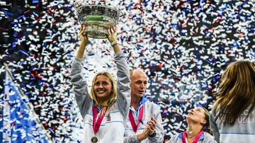 2016-11-02 Garcia, Mladenovic, Kvitova i Pliskova wystąpią w finale Fed Cup