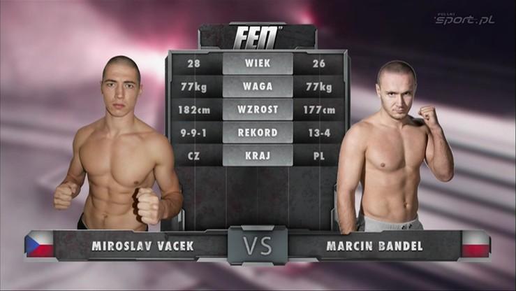 2015-11-07 Marcin Bandel vs. Miroslav Vacek. Skrót walki