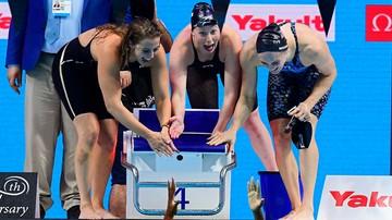 2017-07-30 MŚ w pływaniu: Rekord świata Amerykanek w sztafecie