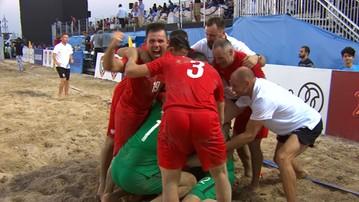 2016-11-05 Beach soccer: Polacy wygrali mecz o 5. miejsce! Znowu zadecydowały karne