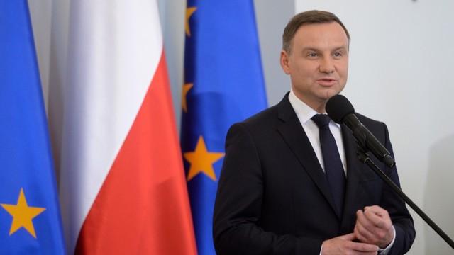 Prezydent Duda pogratulował Macronowi zwycięstwa w wyborach