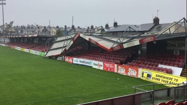 Ofelia zdemolowała stadion Cork City!