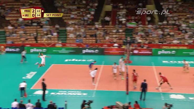 Iran - Francja 2:3. Skrót meczu