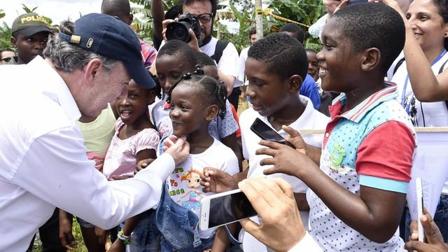 Prezydent Kolumbii: pieniądze z Nobla dla ofiar konfliktu
