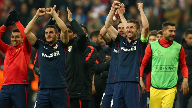 Piłkarska LM - Atletico Madryt pierwszym finalistą, Bayern odpadł z rozgrywek