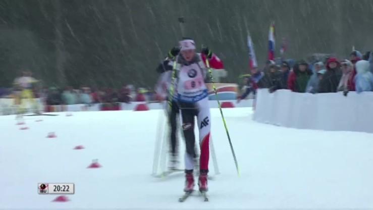 Biathlonowa sztafeta ponownie dla Czech. Siódme miejsce Polek