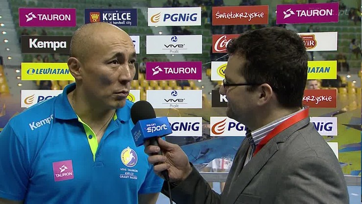 Dujszebajew: Teraz muszę zapomnieć o wyborze kadry, skupiam się na Vive
