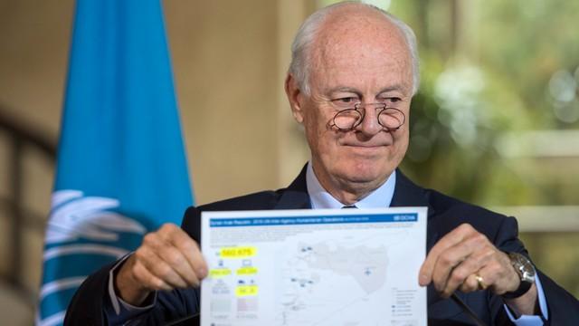 Wysłannik ONZ: w Syrii zginęło już 400 tys. ludzi