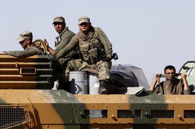 Premier Turcji: konieczna jest operacja lądowa