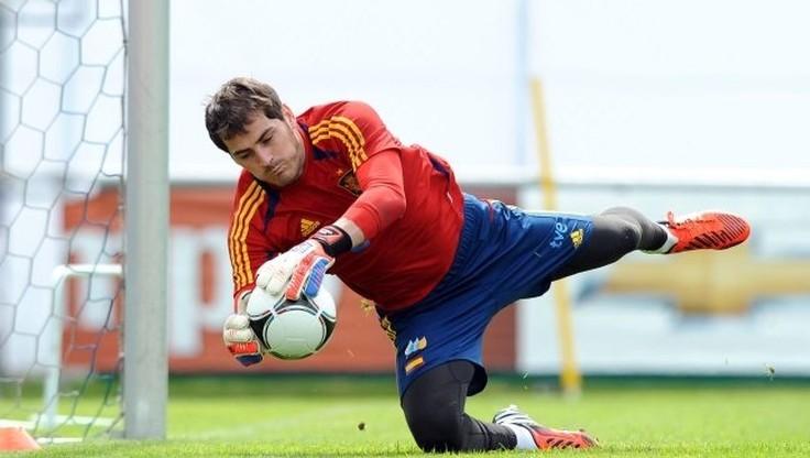 Casillas poza składem reprezentacji Hiszpanii
