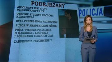 Jest list gończy za podejrzanym o makabryczną zbrodnię w Warszawie