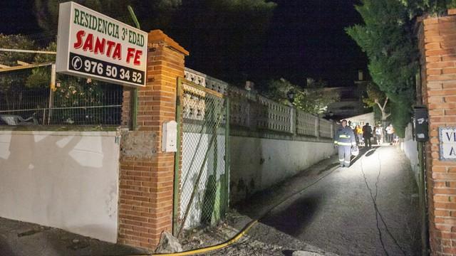 Hiszpania: pożar w domu opieki