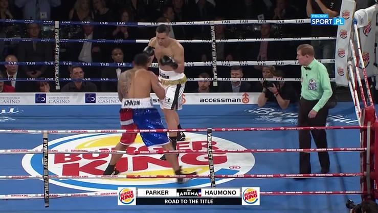 2016-07-21 Joseph Parker - Solomon Haumono. Skrót walki
