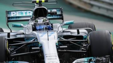 2017-11-11 GP Brazylii: Bottas szybszy od Hamiltona na trzecim treningu