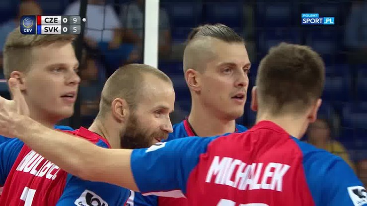 Fantastyczna wymiana w meczu Słowacja - Czechy