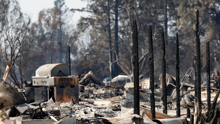 Pożary w Kalifornii. Los stu osób pozostaje nieznany