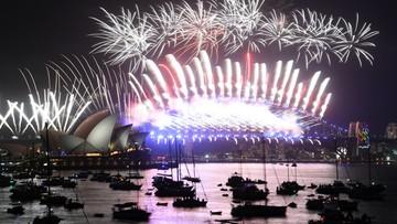 Spektakularny pokaz fajerwerków w Sydney