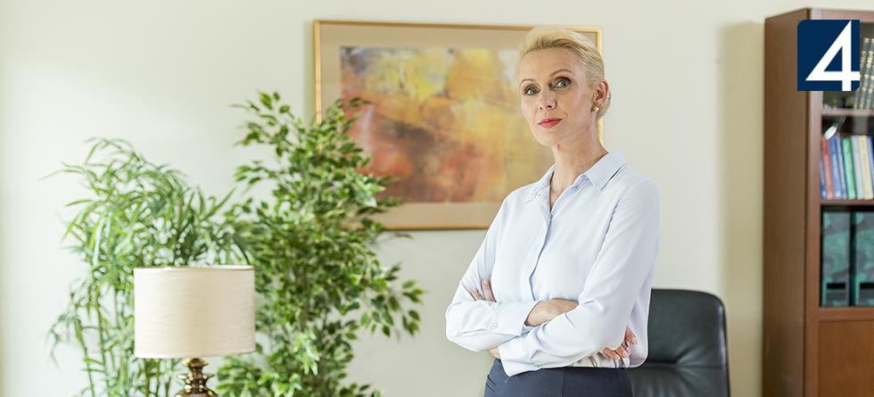 """Ponad milion widzów serialu """"Mecenas Lena Barska"""" w Czwórce"""