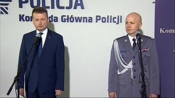 13-04-2016 12:42 Nadinspektor Jarosław Szymczyk nowym komendantem głównym policji