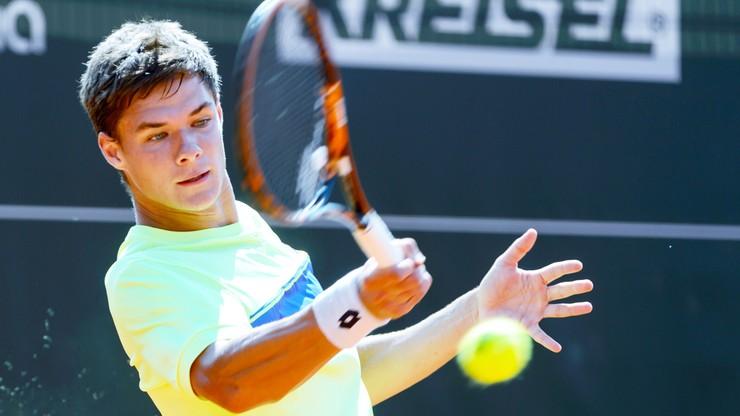Challenger Poznań Open: Dembek i Majchrzak awansowali do drugiej rundy