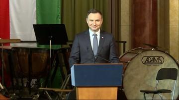 19-03-2016 13:07 Prezydent Duda: zachowaliśmy dobre wartości. Naszym obowiązkiem jest niesienie ich do Europy Zachodniej