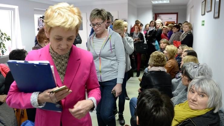 Protest w szpitalu w Staszowie. Pielęgniarki nie wykluczają zaostrzenia strajku