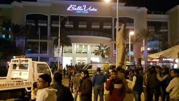 08-01-2016 21:32 Atak na hotel w Egipcie: trzech turystów ranionych przez uzbrojonych napastników